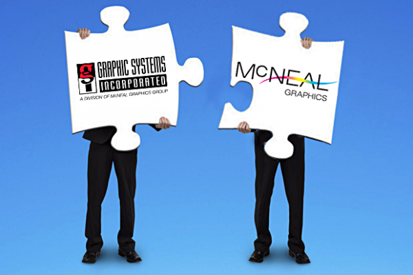 GSIMcNeal Merger Graphic